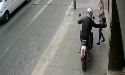 Video: joven enfrenta a dos asaltantes y salva a chica, ola de atracos en Centralse desborda