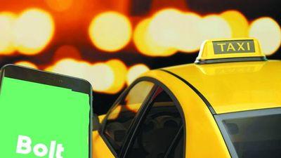 Con sus taxis también trabajan como Bolt