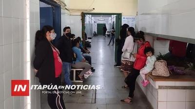 SOLO QUEDAN 7 CAMAS DE UTI POLIVALENTE EN EL HOSPITAL REGIONAL DE ENCARNACIÓN.