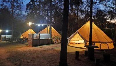 Un camping de estilo europeo en Paraguay propone entretenimiento familiar (y solo permite el sonido de la naturaleza)
