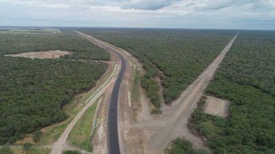 La Ruta Bioceánica tiene un avance de 73% en el Chaco
