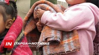 LANZAN CAMPAÑA DEL ABRIGO EN ENCARNACIÓN A FAVOR DE FAMILIAS HUMILDES.