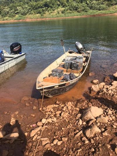 """Masivas incautaciones de contrabando en Foz evidencian que río está """"liberado"""" por Marina"""