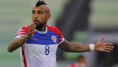 Arturo Vidal hospitalizado por Covid-19 se perderá los partidos contra Argentina y Bolivia