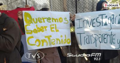 CIUDADANOS DE CAMBYRETA SE MANIFIESTAN EXIGIENDO INVESTIGACIÓN TRANSPARENTE