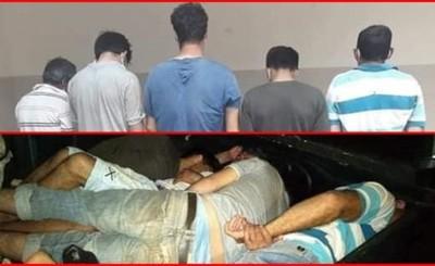 Acusan a 7 invasores que habrían asaltado a dos policías del GEO