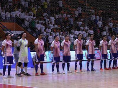 Paraguay, en el Grupo E del Mundial de Futsal FIFA