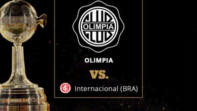 """""""Creo que Internacional es un rival adecuado para Olimpia"""""""