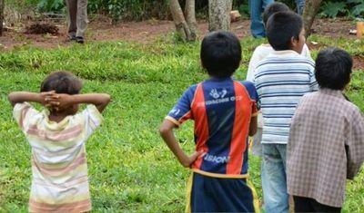 Reintegran a sus comunidades a niños indígenas en situación de calle en Caaguazú