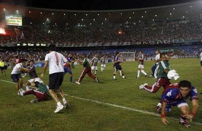 Primer enfrentamiento en Libertadores