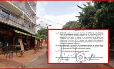 Prieto revoca resolución para peatonalizar avenidas por aglomeraciones
