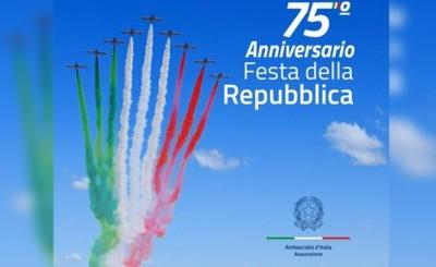 Embajada invita a celebrar la Fiesta Nacional de Italia