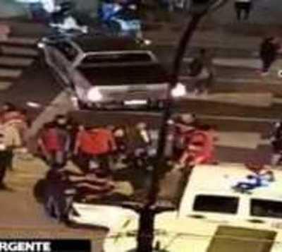 ¡Impactante! Triple accidente sobre Eusebio Ayala