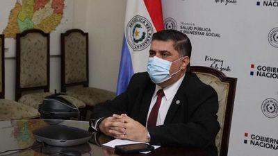 """""""No tenemos más un peso partido en dos"""", asegura ministro de Salud"""