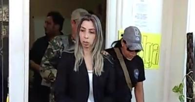 La Nación / Confirman prisión de cuñada del diputado D'Ecclesiis, acusada por tráfico de drogas