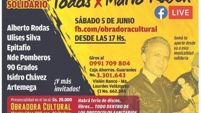 Concierto de solidaridad para Rubén Velázquez