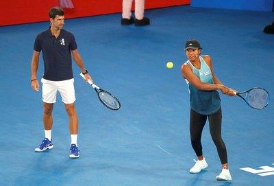 Djokovic: 'Naomi Osaka es muy valiente y yo la apoyo'