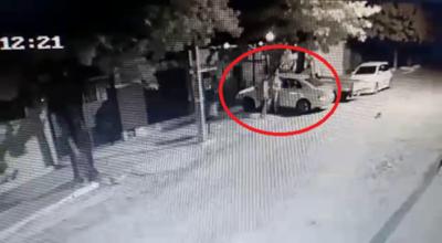 Malviviente roba un móvil y lo termina abandonando por desperfectos mecánicos