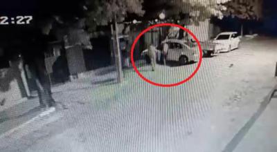 Delincuente roba un automóvil y lo abandona al pie del Cerro Lambaré