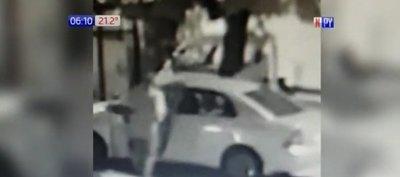 """Presunto delincuente robó un auto """"por un rato"""""""