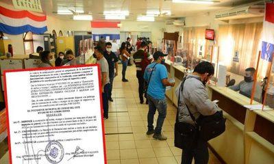 Municipalidad de Ciudad del Este extiende prórroga de pago de impuestos sin multas – Diario TNPRESS