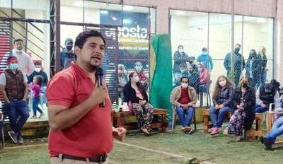 Pedro Barúa reúne a su dirigencia con miras a las internas del 20 de junio