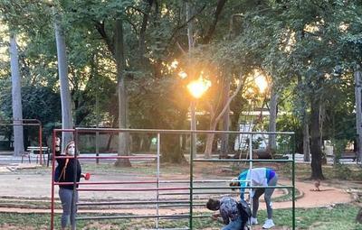 Parque Caballero se encuentra en recuperación