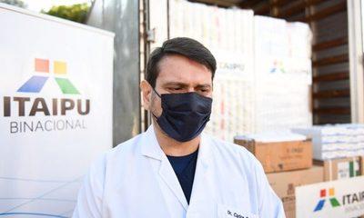 Medicamentos e insumos entregados fortalecerán la asistencia en UTI en Alto Paraná
