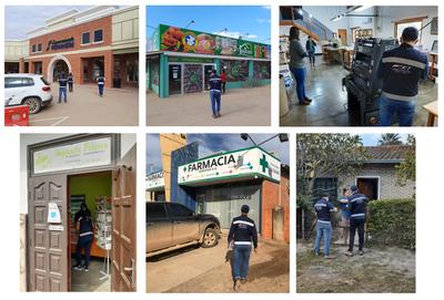 SET realizó controles a comercios en el Chaco