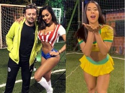 Crónica / [VIDEO] Diosas de HR ya se pintan de Copa América