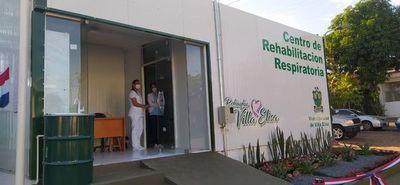 Villa Elisa ya cuenta con un centro de rehabilitación respiratoria y ampliación de albergue de familiares de los pacientes COVID
