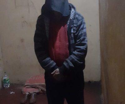 Detienen a hombre que intentó robar moto del predio de Bomberos K122