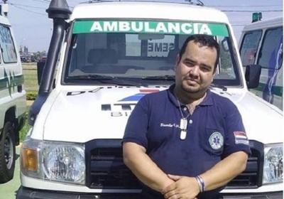 Conductor de ambulancia del SEME se contagió con el covid y falleció. Quedan cuatro huérfanos