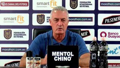 "Gustavo Alfaro: ""Contra Brasil será un gran desafío"""