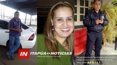 DIRECTOR DE POLICÍA HONRARÁ MEMORIA DE AGENTES CAÍDOS EN PANDEMIA.
