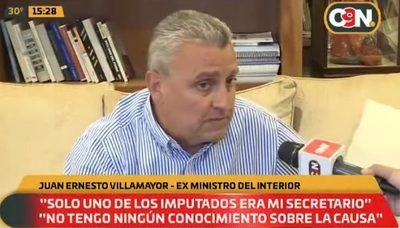 Villamayor niega vínculos con dos imputados y dice desconocer detalles del caso