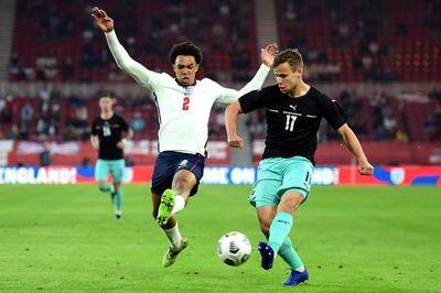 Inglaterra se impone sin brillo a la Austria de Alaba