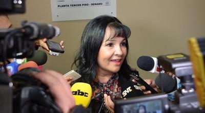 Ex senadora Bajac recurre a la Corte Interamericana por su destitución