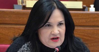 La Nación / Exsenadora Bajac recurre a la Comisión Interamericana de Derechos Humanos por su destitución del Senado