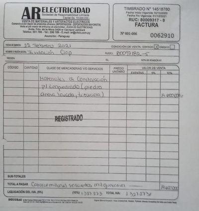 Denuncian que gobernador de Central usó facturas truchas para rendir dinero usado durante la pandemia