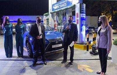 Petrobras presenta nafta 100 octanos
