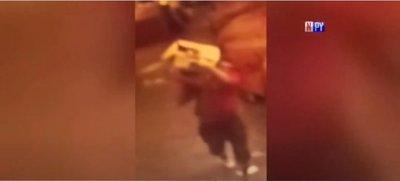 Detienen a presunto ladrón, terror del mercado de San Lorenzo
