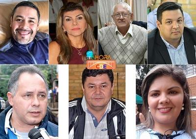 Concejales RASTREROS de Miguel Prieto