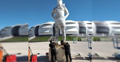 Estatua y camiseta: Selección argentina rendirá homenaje a Diego Maradona en partido contra Chile