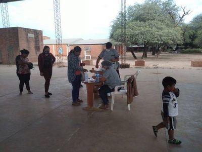Poca concurrencia a vacunatorios en Boquerón