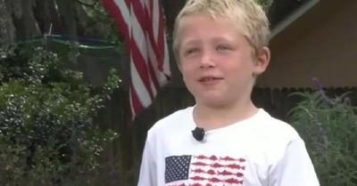 Niño héroe de 7 años nadó más de una hora para salvar a su papá y hermana