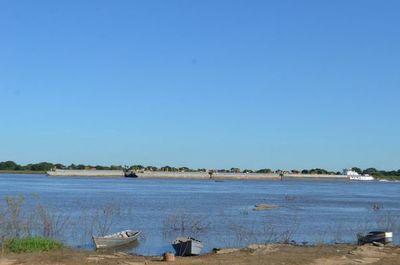 Río Paraguay sigue descendiendo y proyecciones no son auspiciosas