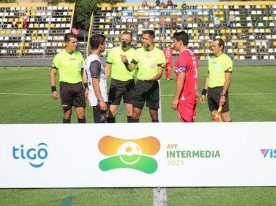 Intermedia: árbitros designados