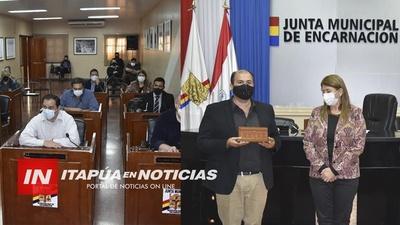 NUEVAS AUTORIDADES EN LA MESA DIRECTIVA DE LA JUNTA MUNICIPAL DE ENCARNACIÓN.