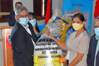 Guairá: Realizarán el lanzamiento de la segunda entrega de kits de alimentos